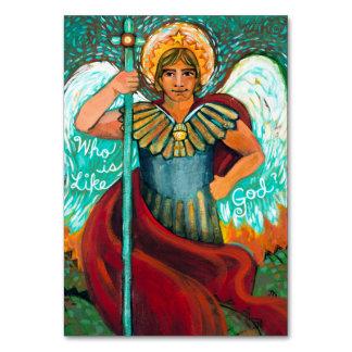 Customizable St. Michael Archangel Prayer Card
