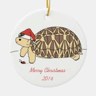 Customizable Star Tortoise Ornament
