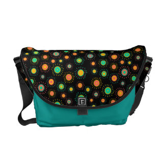 Customizable Starbursts Messenger Bag