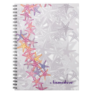 Customizable: Starfish Notebook