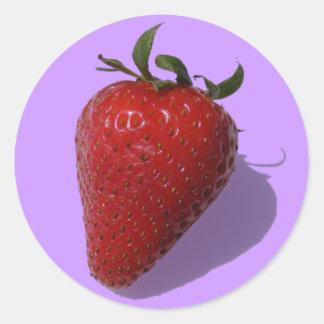 Customizable Strawberry Sticker