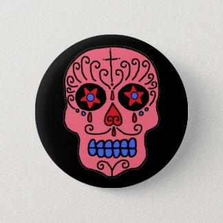 Customizable Sugar Skull 2 Inch Round Button