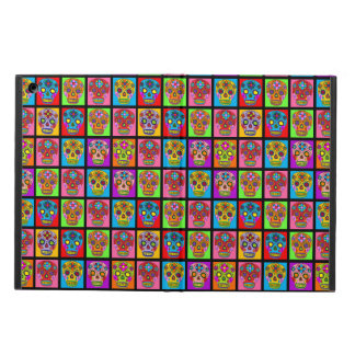 Customizable Sugar Skull Squares iPad Air Case
