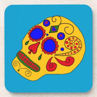 Customizable Sugar Skulls Coaster