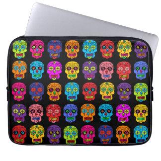 Customizable Sugar Skulls Laptop Sleeve