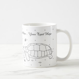 Customizable Sulcata Tortoise Mug