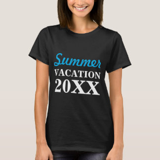 Customizable Summer Vacation Shirts