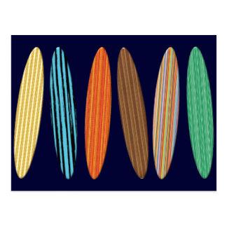 Customizable Surfboards Postcard