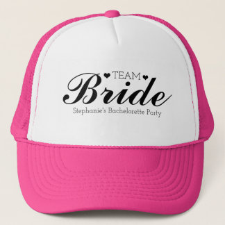 Customizable Team Bride Trucker Hats