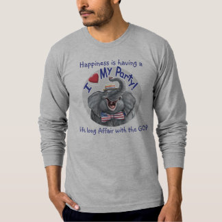 Customizable Template - I Love My GOP T-Shirt