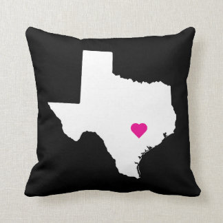 Customizable Texas State Love Reversible Pillow