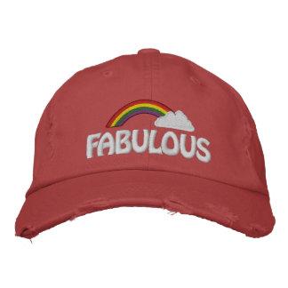 Customizable Text Rainbow Cap
