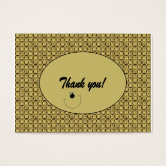 "Customizable ""Thank you"" Card / Tag (100)"
