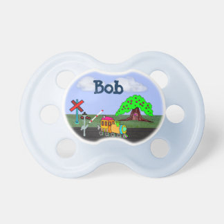 Customizable Toy Train on BooginHead® Pacifier