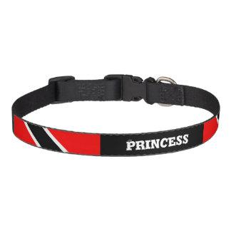Customizable Trinidad & Tobago Dog Collars