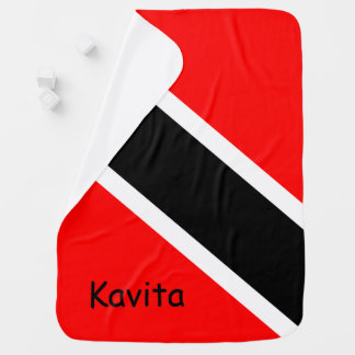 Customizable Trinidad & Tobago Swaddle Blankets