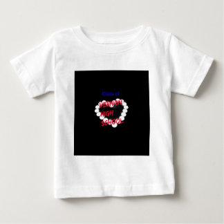 Customizable Vernon High School Candle Heart Baby T-Shirt
