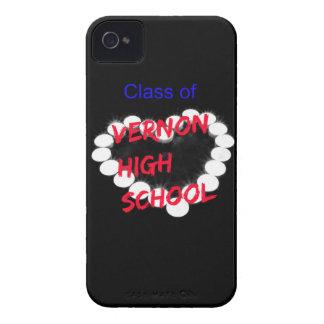 Customizable Vernon High School Candle Heart Case-Mate iPhone 4 Case
