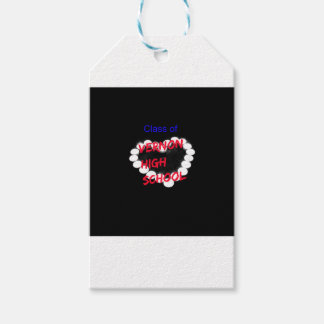 Customizable Vernon High School Candle Heart Pack Of Gift Tags