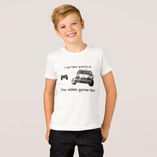 Customizable Video Game Racing T-Shirt
