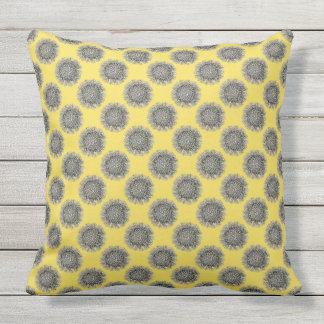 Customizable Vintage Haeckel Outdoor Pillow