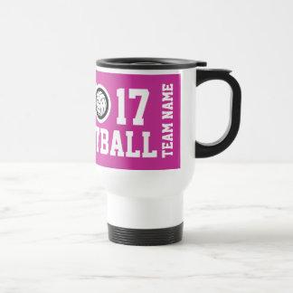 Customizable Volleyball travel mug