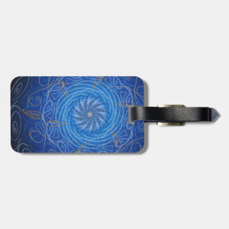 Customizable Water (Psychedelic spirograph) Bag Tag