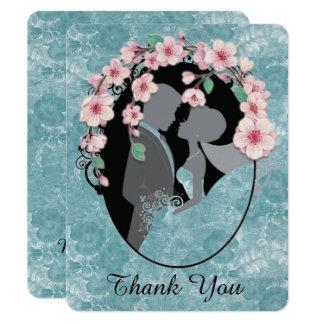 Customizable Wedding/Bride/Groom THANK YOU CARD