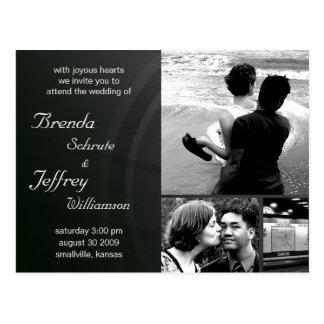 Customizable  Wedding Invitation Photos  Images Postcard
