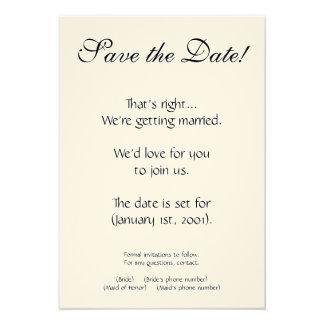 Customizable Wedding Invitation Sets