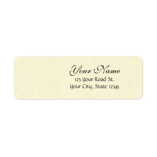 Customizable Wedding Invitation Sets Return Address Label