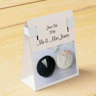 Customizable wedding party favor box