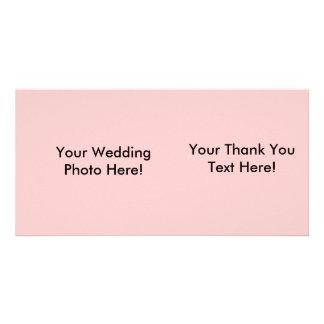 Customizable Wedding Photo Thank You Card! Customized Photo Card