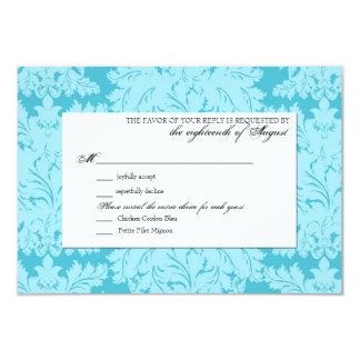 Customizable Wedding RSVP Response Card Personalized Invitation