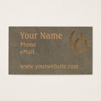 CUSTOMIZABLE Western Business CARDS