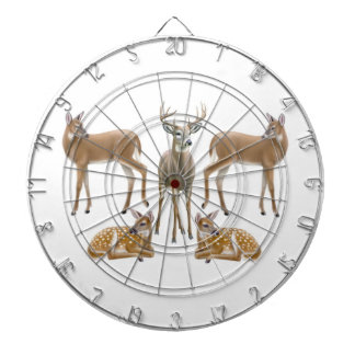 Customizable White Tailed Deer Dart Board
