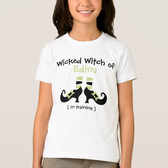 Customizable Wicked Witch Halloween T-Shirt