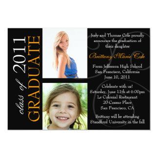 Customizable Year Graduate Photo Announcement