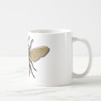 Customizable Yellow Bumble Bee Coffee Mug