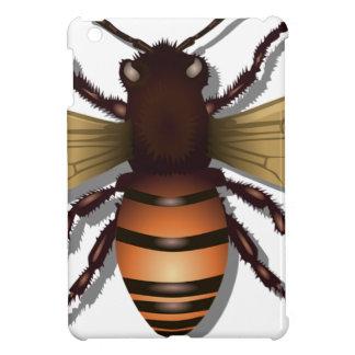 Customizable Yellow Bumble Bee iPad Mini Covers