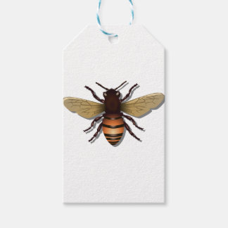 Customizable Yellow Bumble Bee Pack Of Gift Tags