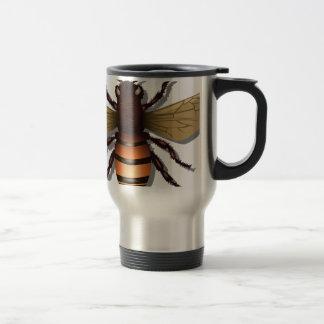 Customizable Yellow Bumble Bee Travel Mug
