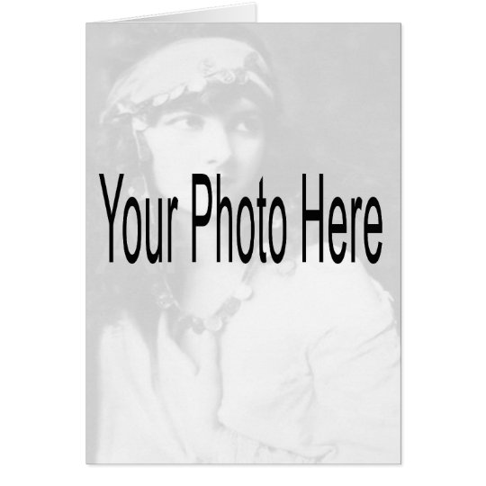 Customizable - Your Photo & Text Card