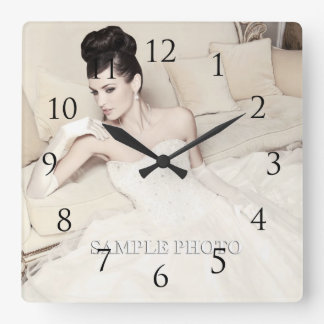 Customizable Your Photo Wall Clock