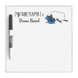 Customizable YOURNAME Sleepy Sheepy Dream Board