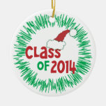 CUSTOMIZE Add Photo - Class of 2014 Holiday Christmas Ornament