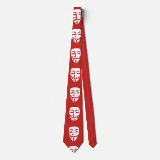 Customize Anonymous face party Tie