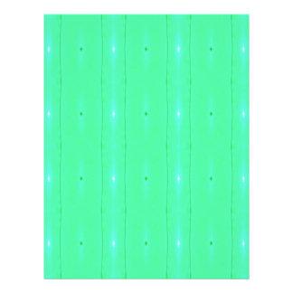 Customize Background Fluorescent Green Pattern Letterhead