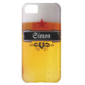Customize Beer Glass iPhone 5C Cases