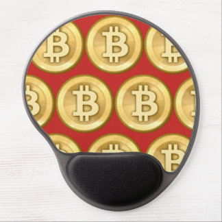 Customize Bitcoins Gel Mouse Pad